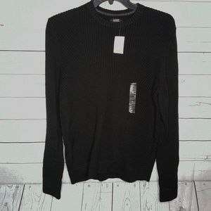 ALFANI MEN'S SZ MEDIUM BLACK SWEATER